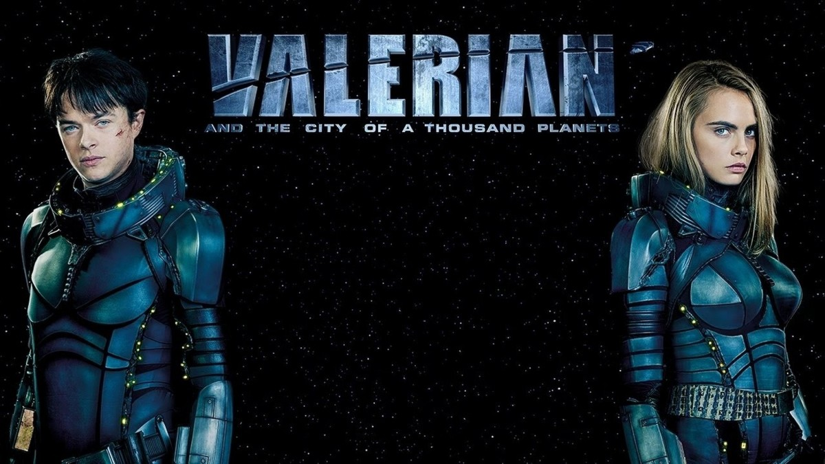 Valerian and the City of a Thousand Planets 2017 Review
